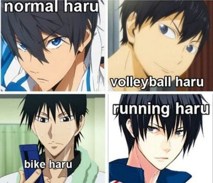 I Get It Hes That ONE Character In Every Sports Anime The Handsome Dark Haired Blue Eyed Stoic Unsmiling Bishounen Thats Clinically Obsessed With