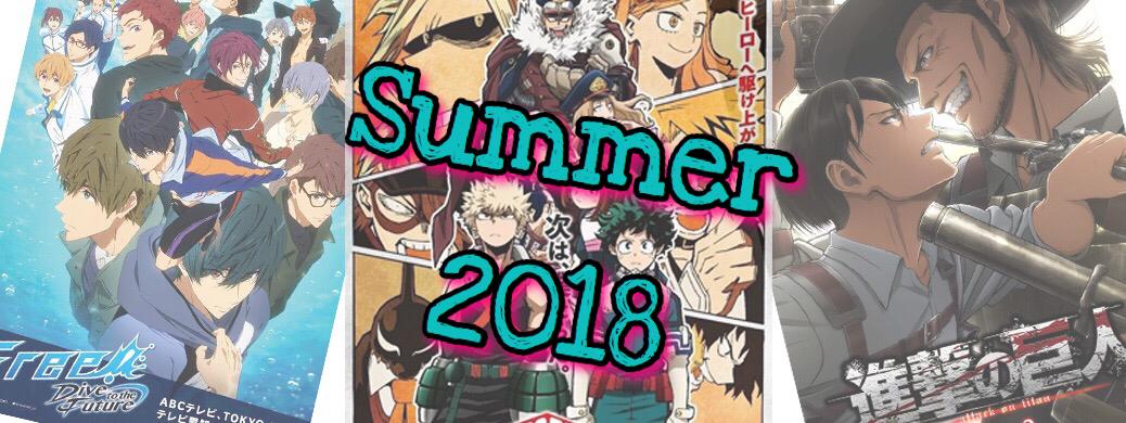 Watch List Summer 2018 ARCHI ANIME