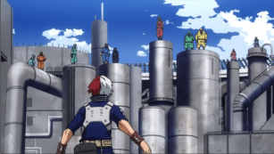 todoroki solo battle
